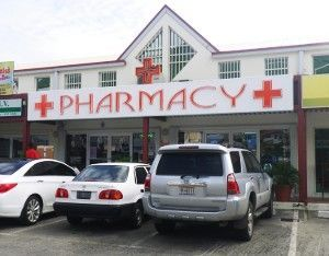 Orange Grove Pharmacy in Cole Bay, St. Maarten